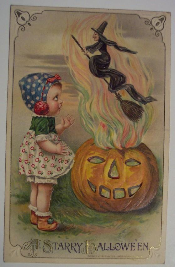 Postales Halloween retro 128