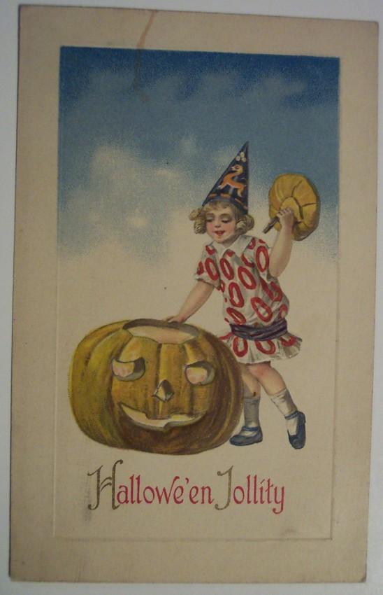 Postales Halloween retro 129