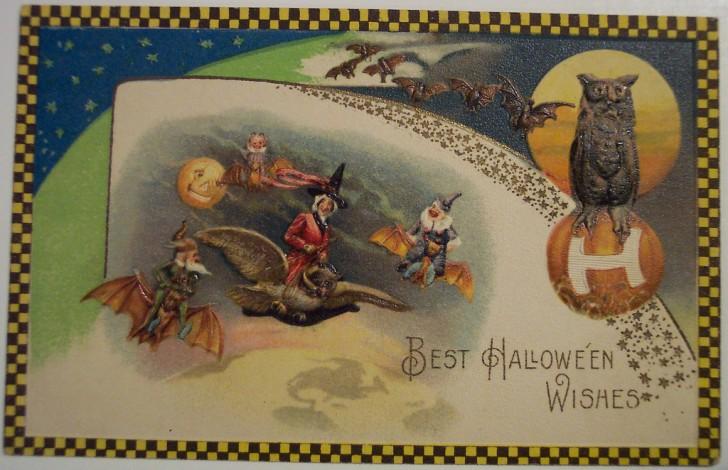 Postales Halloween retro 130
