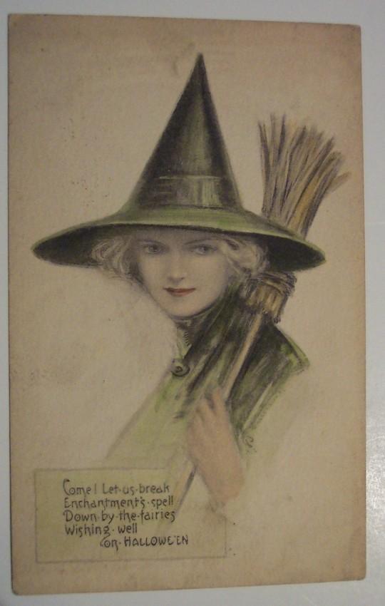 Postales Halloween retro 139