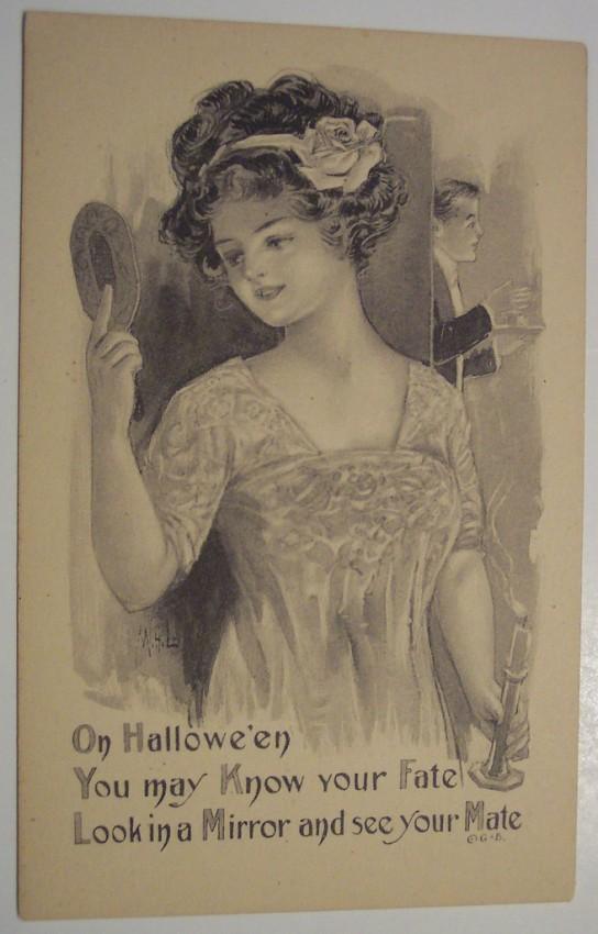 Postales Halloween retro 146