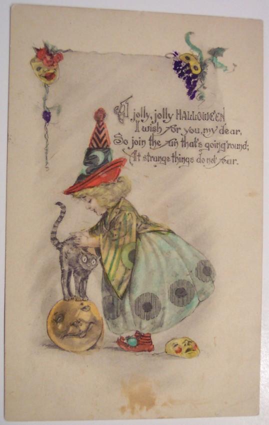 Postales Halloween retro 150