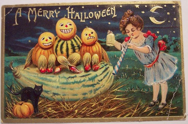 Postales Halloween vintage 001