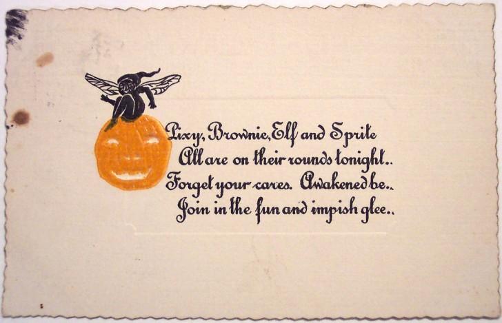 Postales Halloween vintage 002