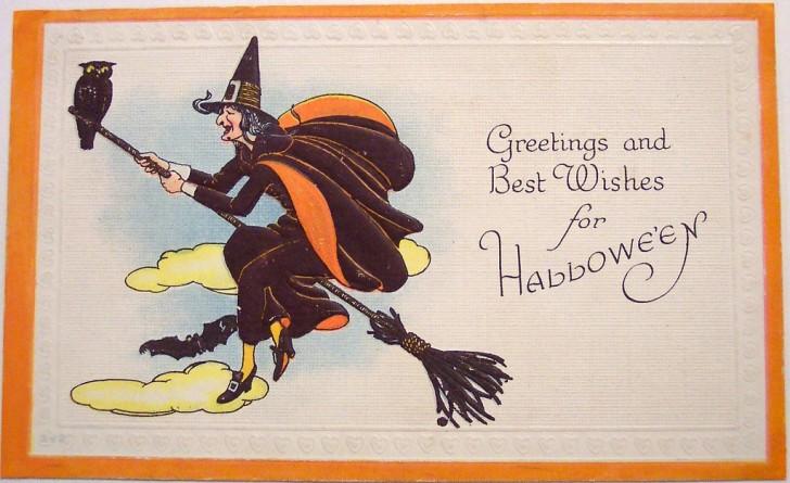 Postales Halloween vintage 004