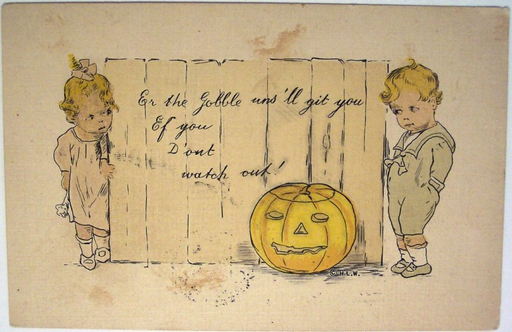 Postales Halloween vintage 005