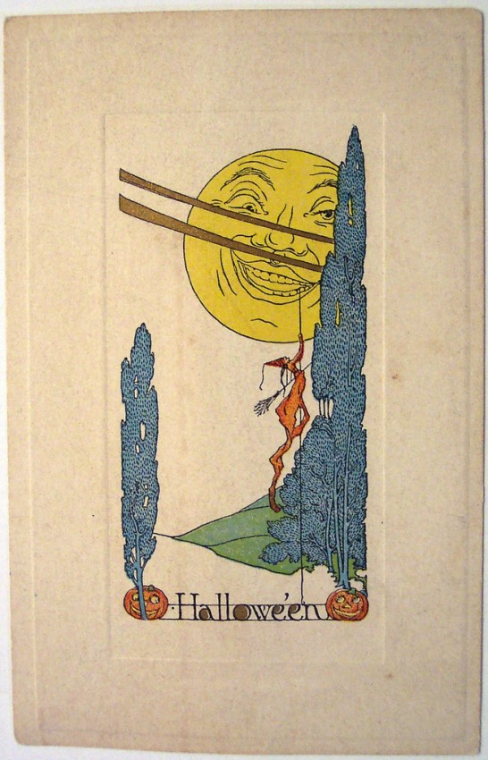 Postales Halloween vintage 006