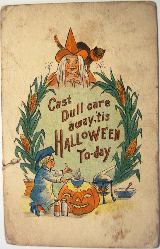 Postales Halloween vintage 008