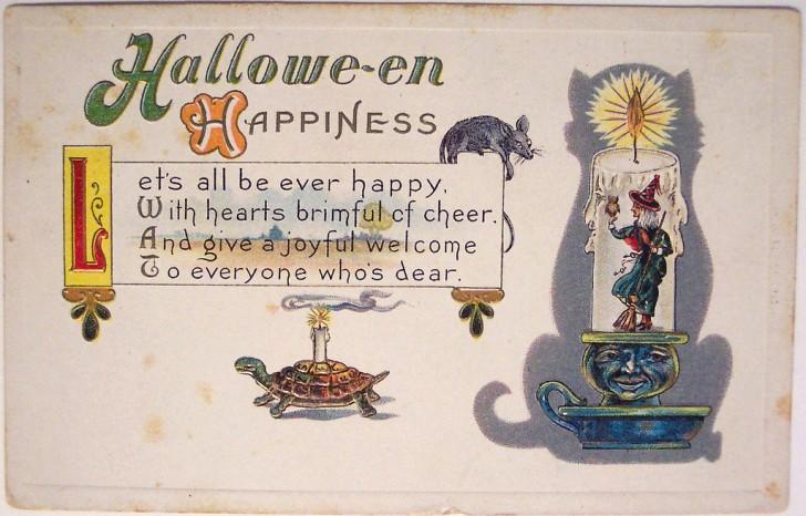 Postales Halloween vintage 009