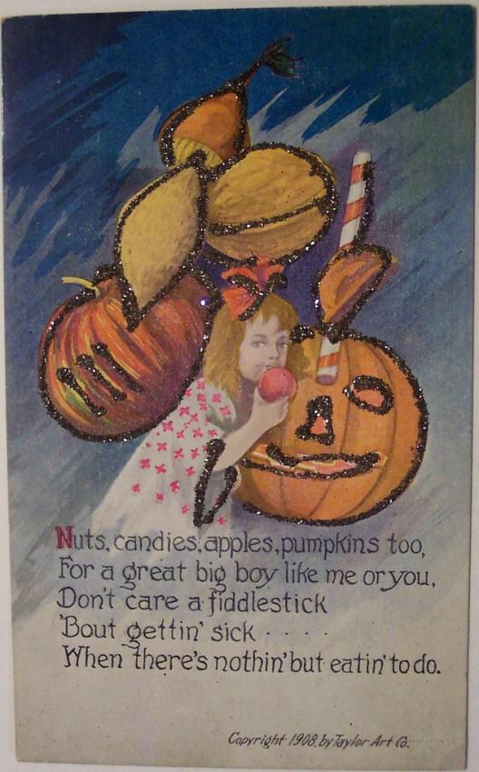 Postales Halloween vintage 010