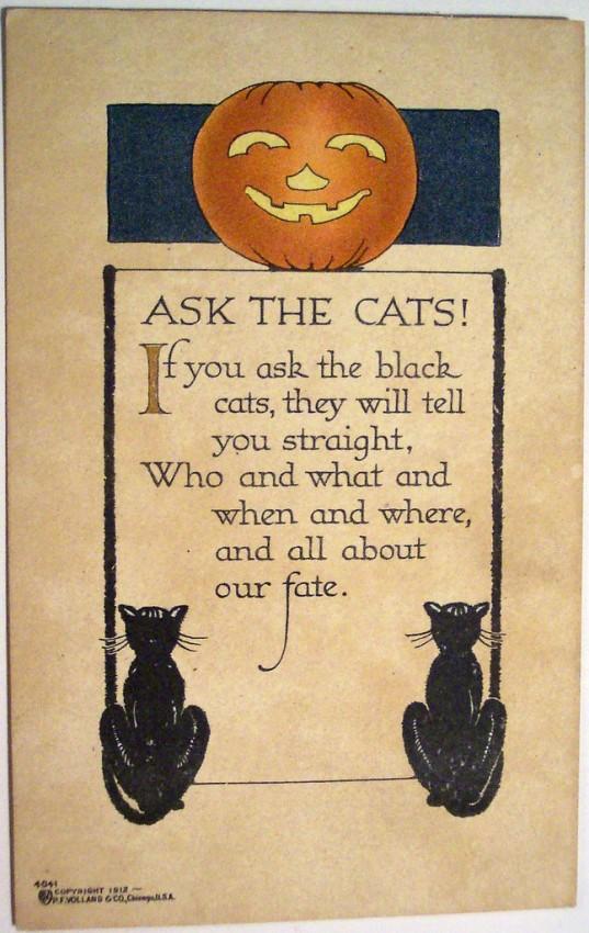 Postales Halloween vintage 012