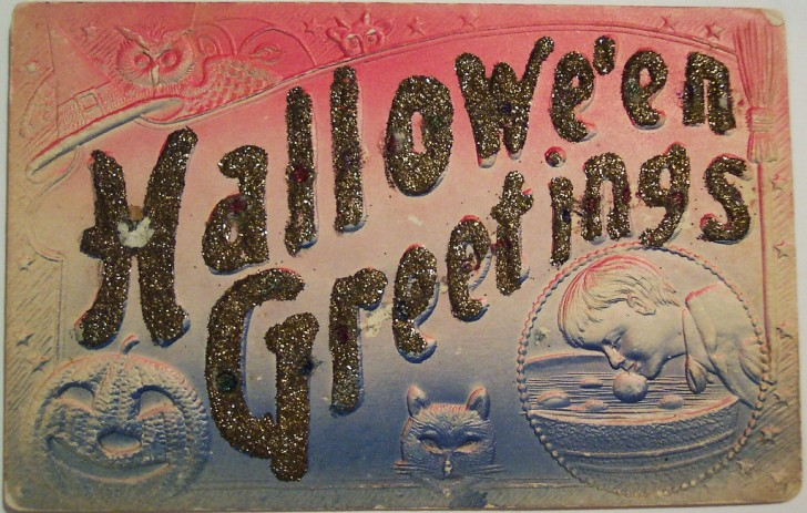 Postales Halloween vintage 013