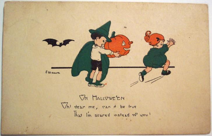 Postales Halloween vintage 014