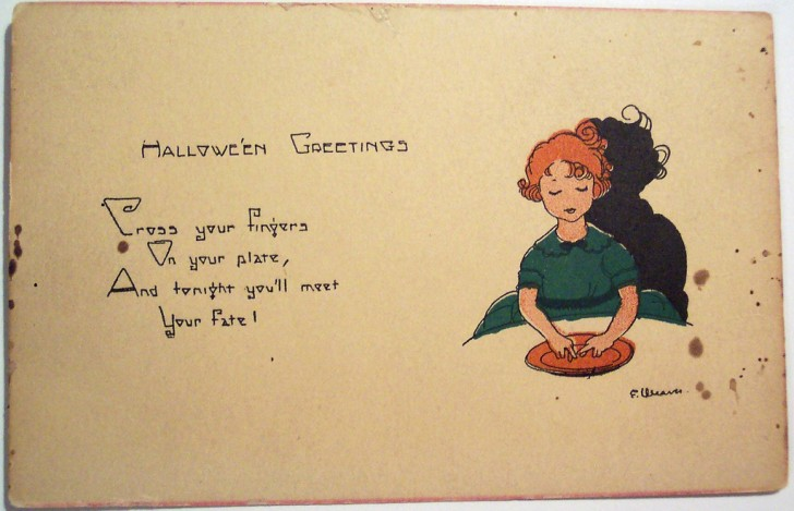 Postales Halloween vintage 015