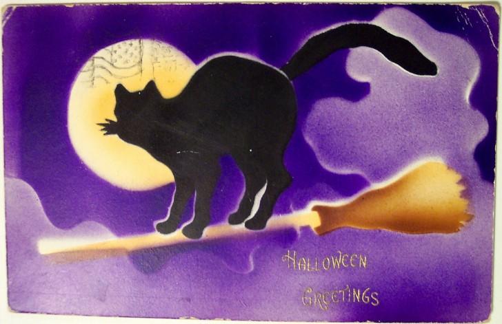 Postales Halloween vintage 016