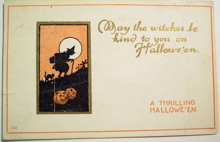 Postales Halloween vintage 017