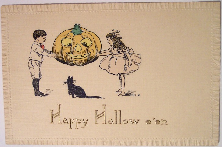 Postales Halloween vintage 018