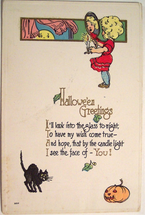 Postales Halloween vintage 019