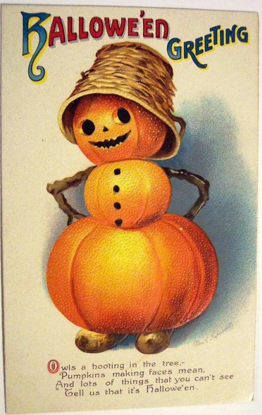 Postales Halloween vintage 020