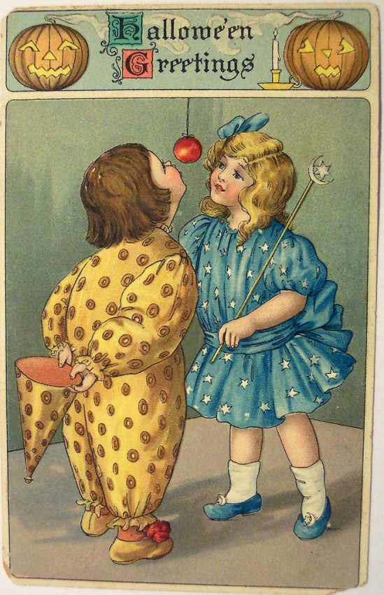 Postales Halloween vintage 021