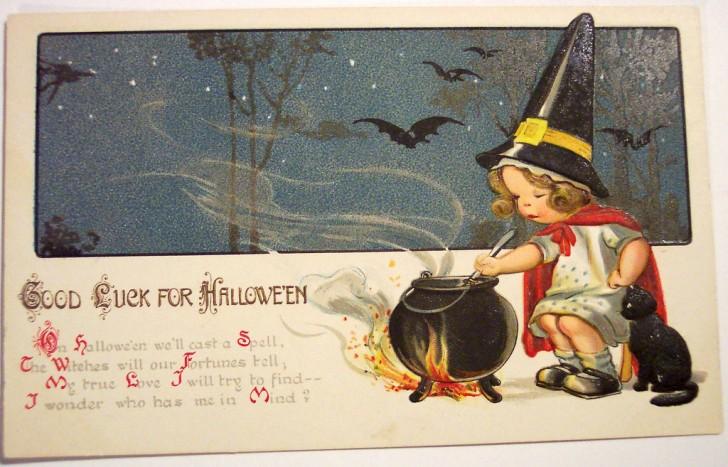 Postales Halloween vintage 022