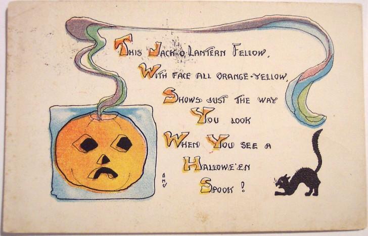Postales Halloween vintage 023