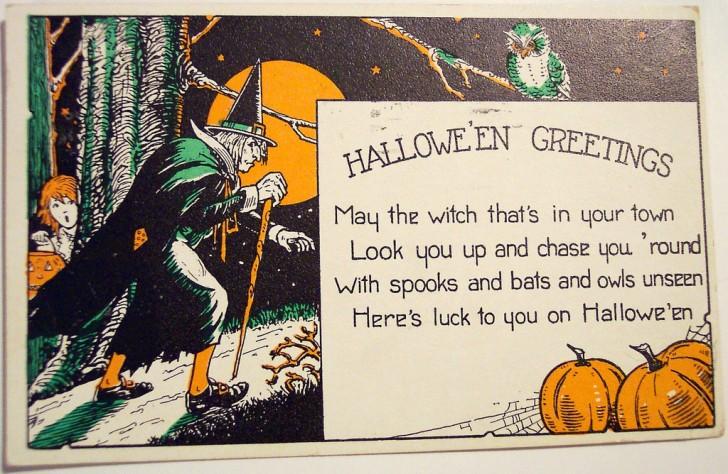 Postales Halloween vintage 024