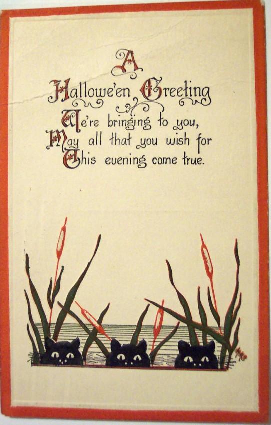 Postales Halloween vintage 025