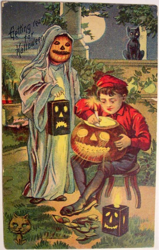 Postales Halloween vintage 028