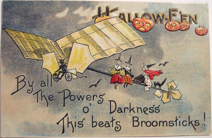 Postales Halloween vintage 029