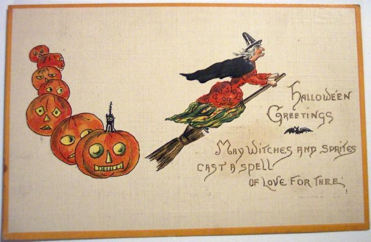Postales Halloween vintage 030