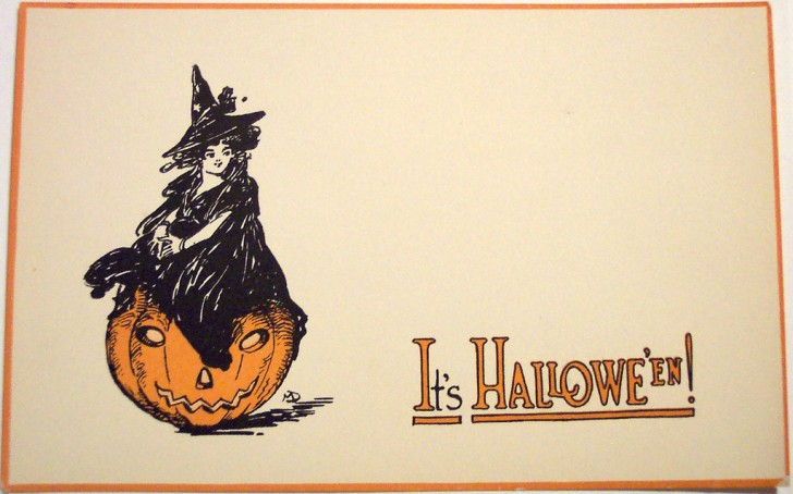 Postales Halloween vintage 031