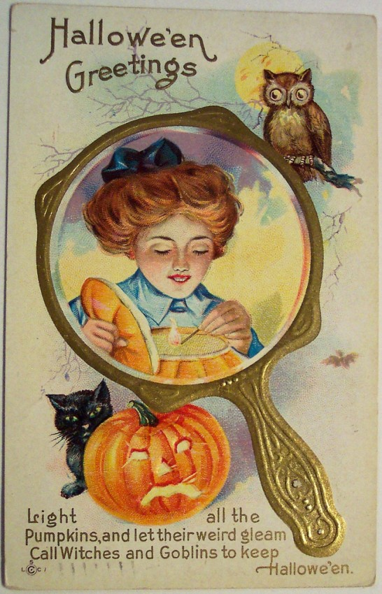 Postales Halloween vintage 032