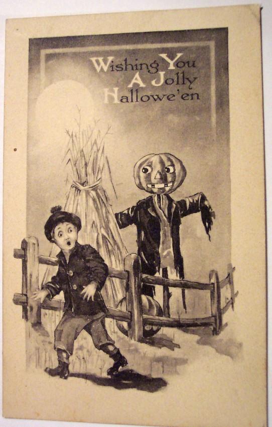 Postales Halloween vintage 034