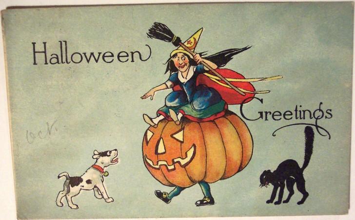 Postales Halloween vintage 035