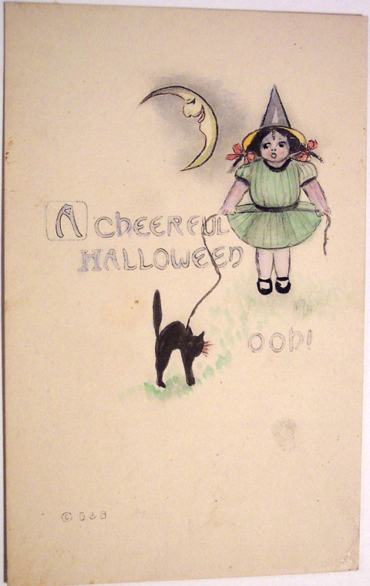 Postales Halloween vintage 036