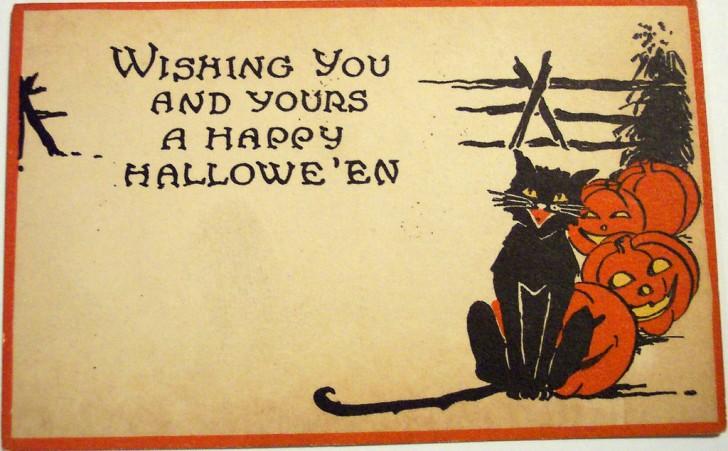 Postales Halloween vintage 038