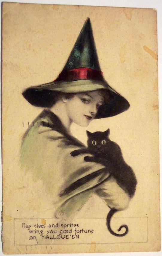 Postales Halloween vintage 039