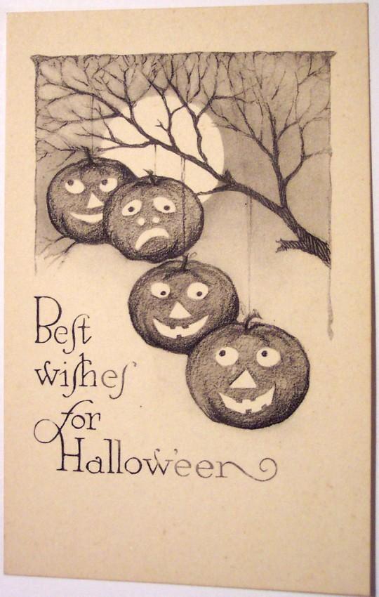 Postales Halloween vintage 040