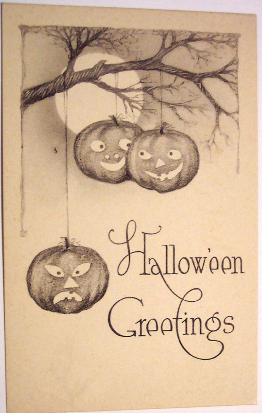 Postales Halloween vintage 041