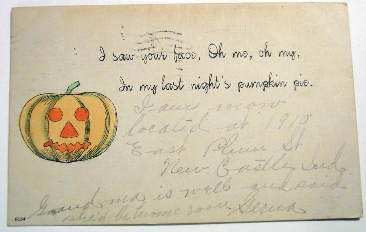 Postales Halloween vintage 042