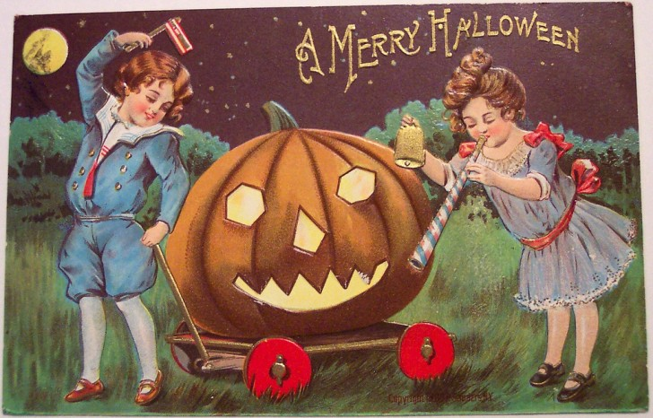 Postales Halloween vintage 043
