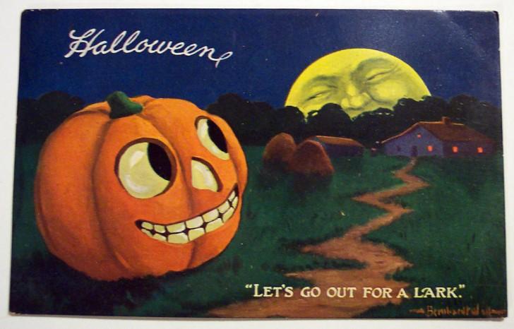 Postales Halloween vintage 044