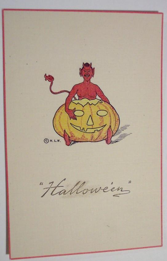 Postales Halloween vintage 045