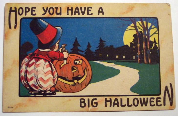 Postales Halloween vintage 047