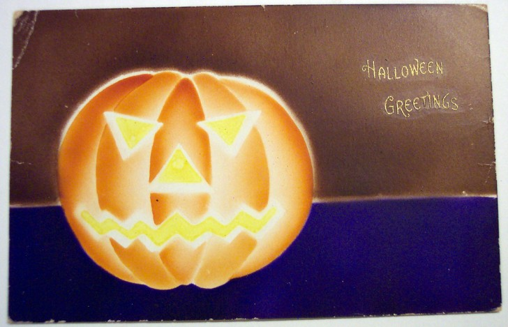 Postales Halloween vintage 049