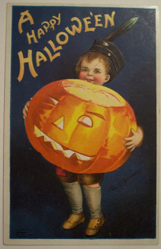 Postales Halloween vintage 051