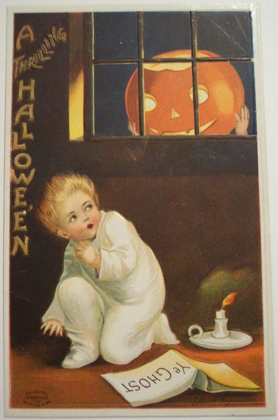 Postales Halloween vintage 053