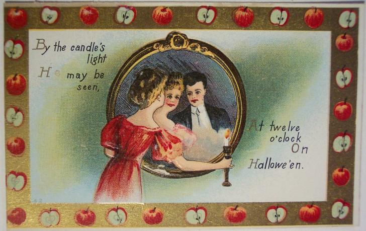 Postales Halloween vintage 054