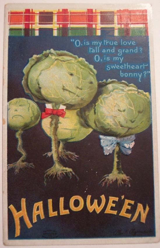 Postales Halloween vintage 055